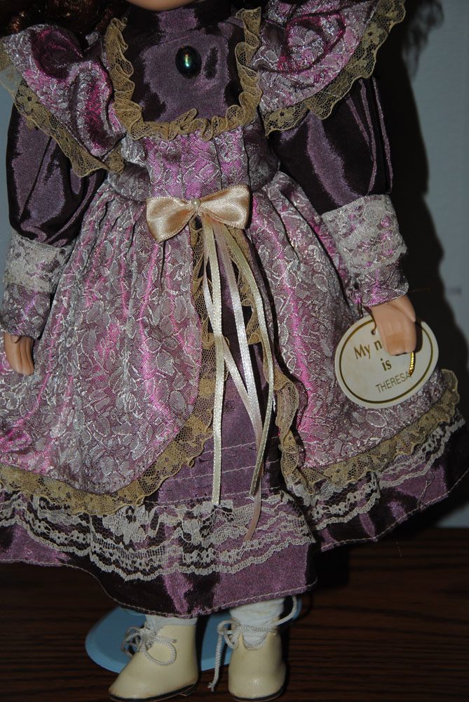 sm 16 inch Theresa Porcelain doll 10