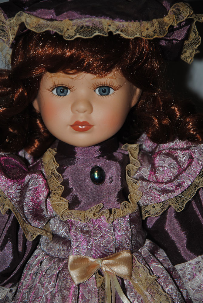 16 inch Theresa Porcelain doll 2
