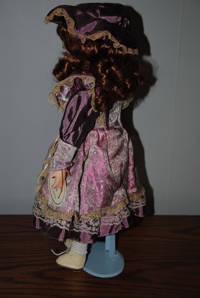 sm 16 inch Theresa Porcelain doll 5