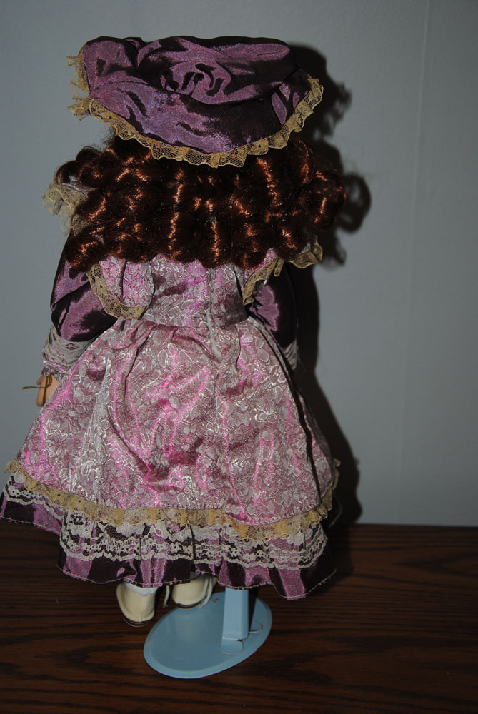sm 16 inch Theresa Porcelain doll 6