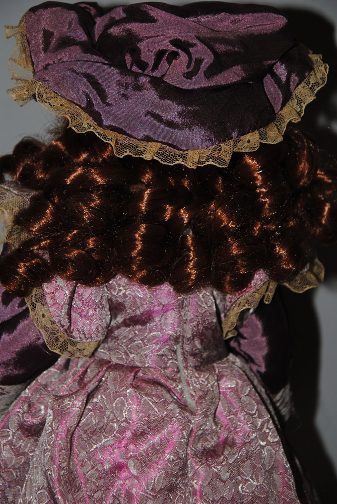 sm 16 inch Theresa Porcelain doll 7