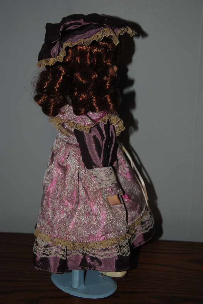 sm 16 inch Theresa Porcelain doll 8