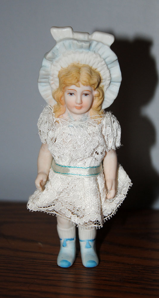 sm French Bisque 5 in Doll 1