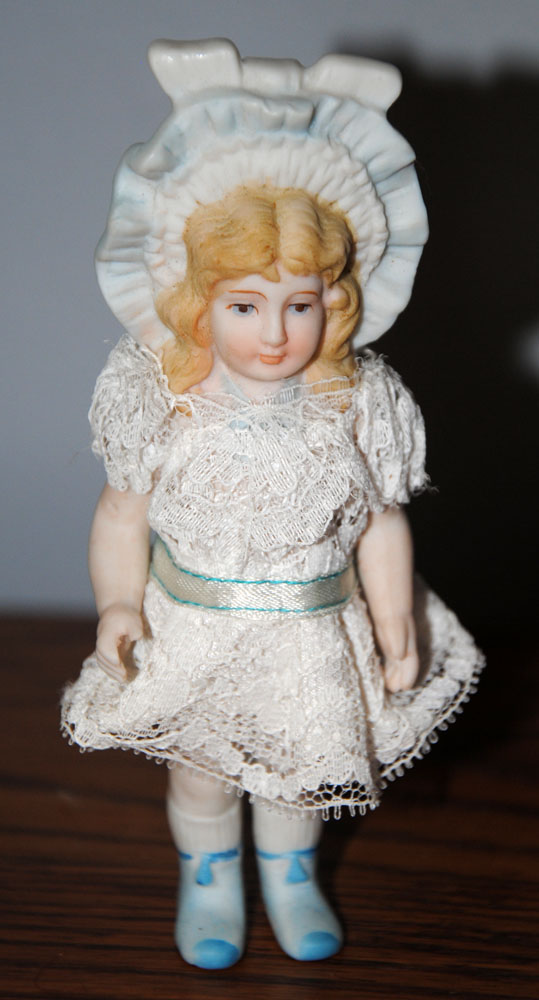sm French Bisque 5 in Doll 8