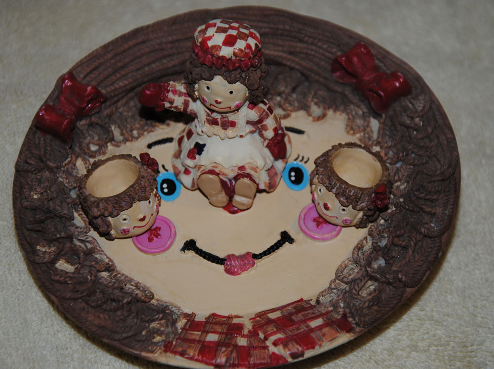 Raggedy Ann Mini Tea Set