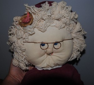 Mop Doll Mrs Claus
