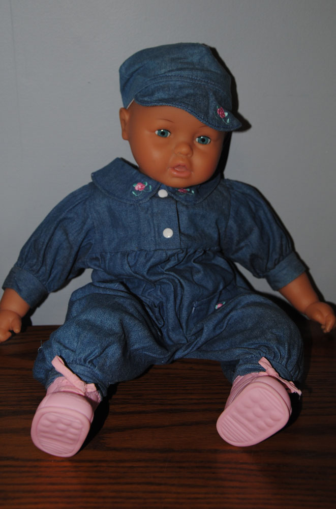 sm Lg 22 in Baby doll in Denim 4